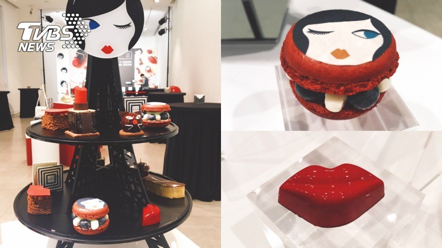 精品也能吃?夢幻限定「紅唇下午茶」時尚爆表!