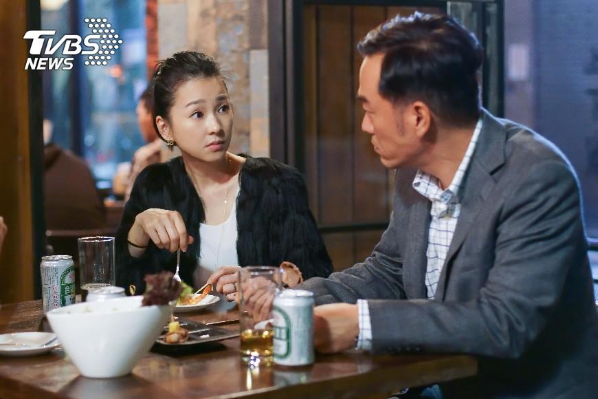圖/TVBS 劉品言成小三?六月、張翰面臨婚姻危機