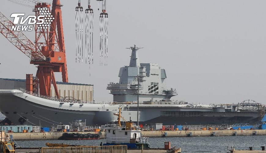 圖/TVBS 大陸及新加坡海軍 2月24日舉行聯合演習