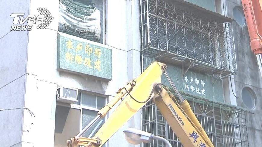 圖/TVBS 危老建築補強沒效益 高市:重建比都更快