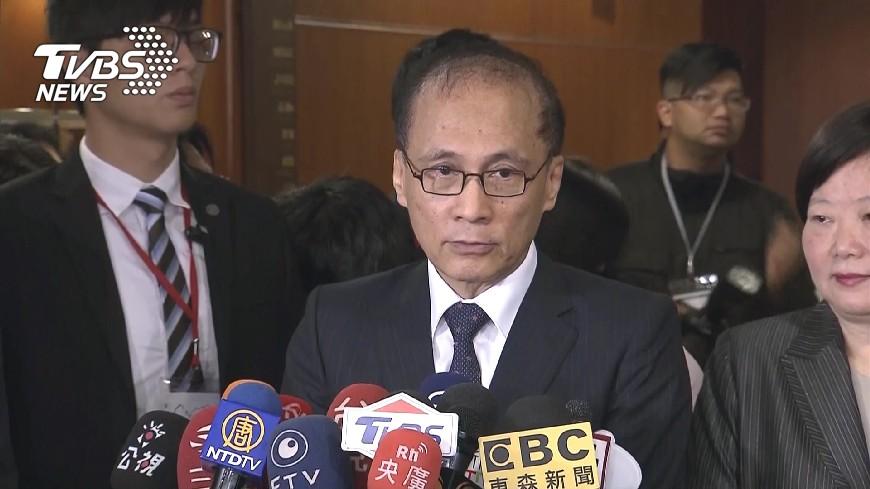 圖/TVBS 議員質問林全算狼師嗎? 賴清德動怒