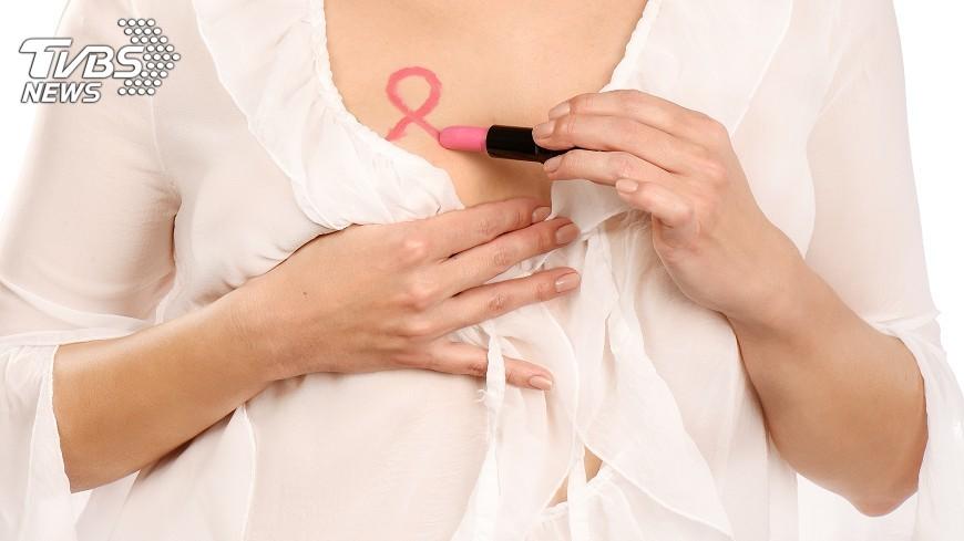 示意圖/TVBS 台女罹乳癌最多  停經後肥胖增風險