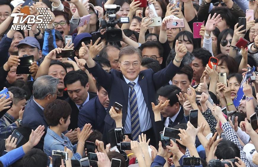 圖/達志影像美聯社 青瓦台爭霸!南韓總統大選4大分析