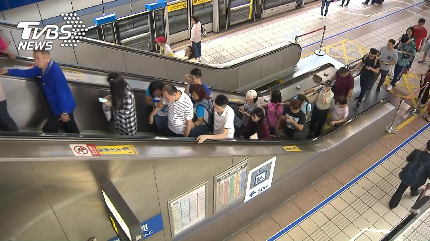 示意圖/TVBS 北捷最爛轉乘是哪站? 「這站」獲封世界最遠距離