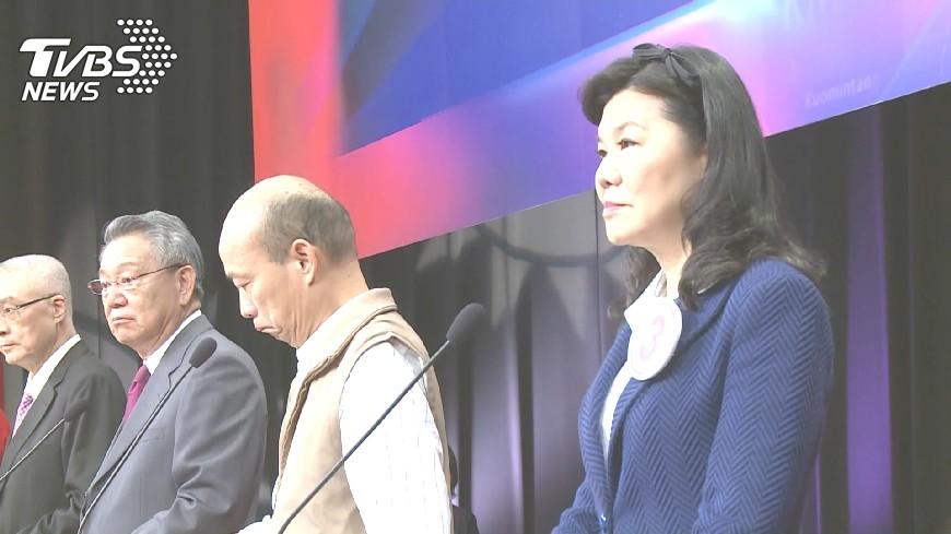 圖/TVBS 藍黨魁6搶2!候選人倒數催票 拚「第二輪」