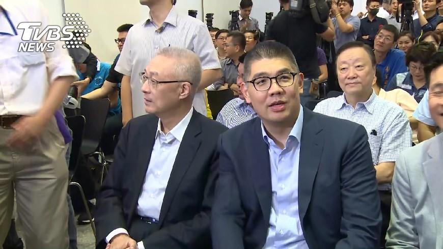 圖/TVBS 藍黨魁6搶2! 候選人倒數催票拚「第二輪」