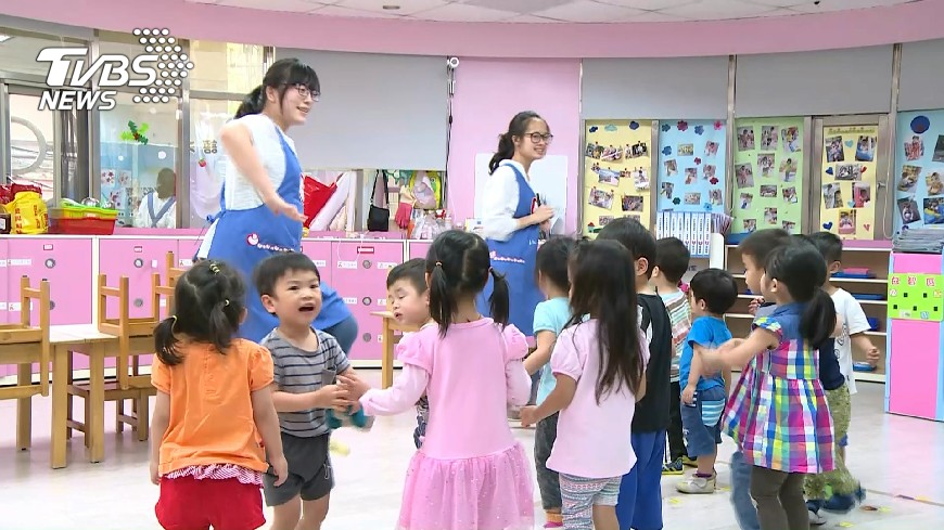 圖/TVBS 5歲幼兒免學費開跑 弱勢兒最高補助6萬