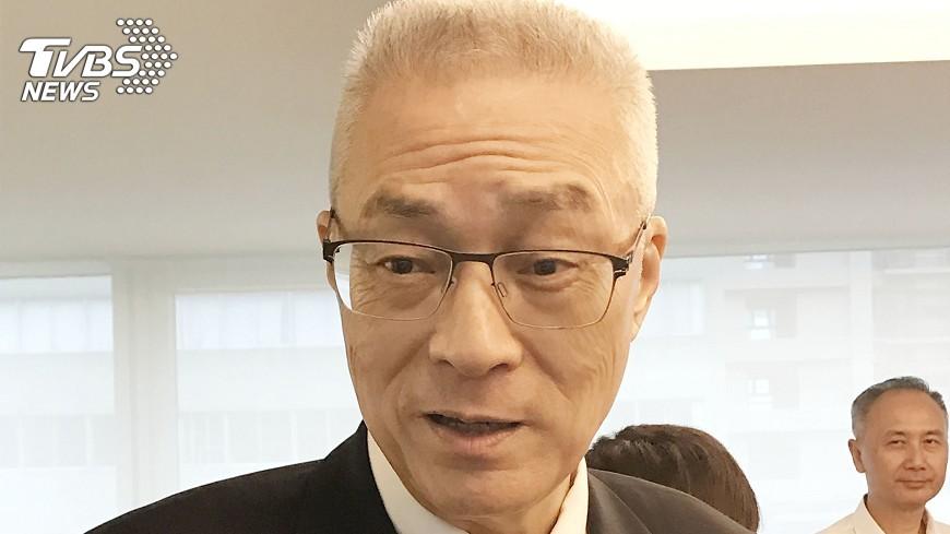 圖/TVBS 吳敦義:九二共識維繫兩岸和平穩定發展