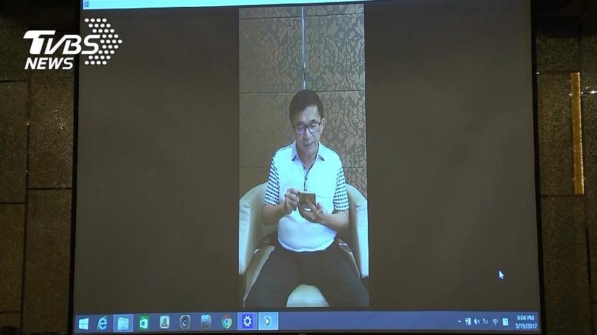 前總統陳水扁提出馬偕醫院證明申請保外就醫展延獲准,這是他第11次保外就醫展延成功。(圖/TVBS) 展延第11次成功 陳水扁保外就醫到11月4日