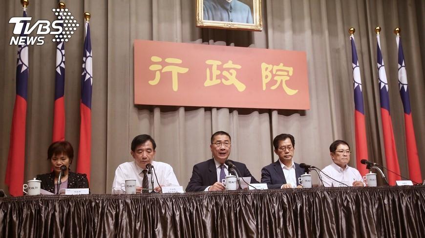 圖/中央社 政院:同婚法案牽涉範圍廣 盤整後提出