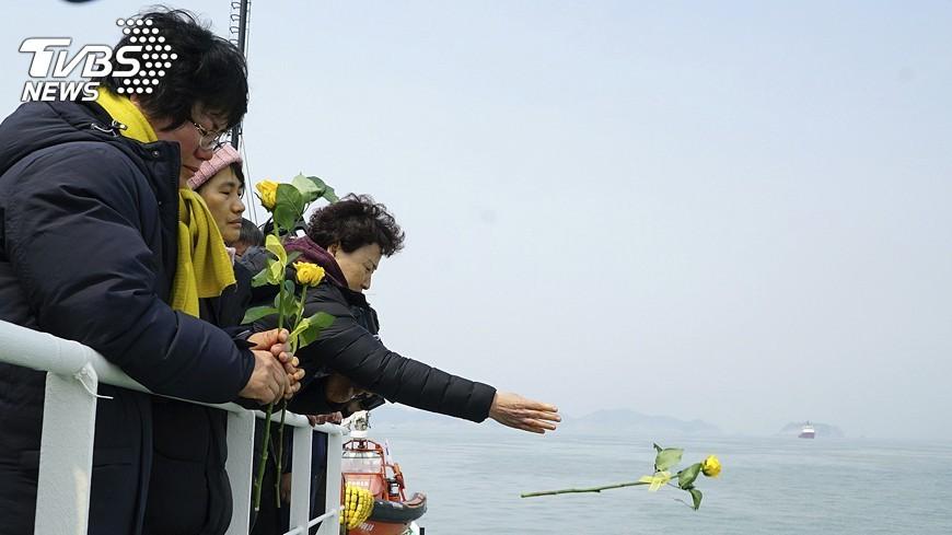 圖/達志影像美聯社 致世越號罹難者最後訊息:你獲救了嗎?