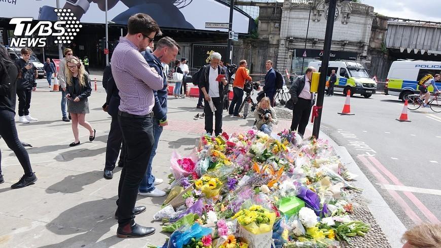 圖/中央社 倫敦恐攻嫌如殺人機器 倖存者嚇到失語