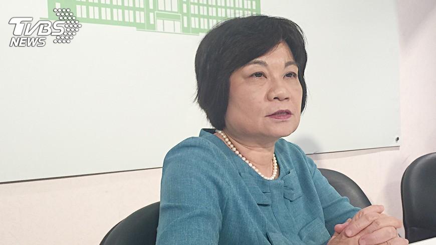 圖/中央社 陳美伶:攬外國人才培養競爭力 不是取代