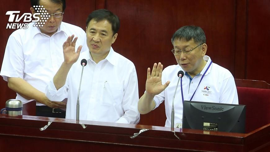 圖/中央社 北農人事 柯文哲:下週親赴農委會談