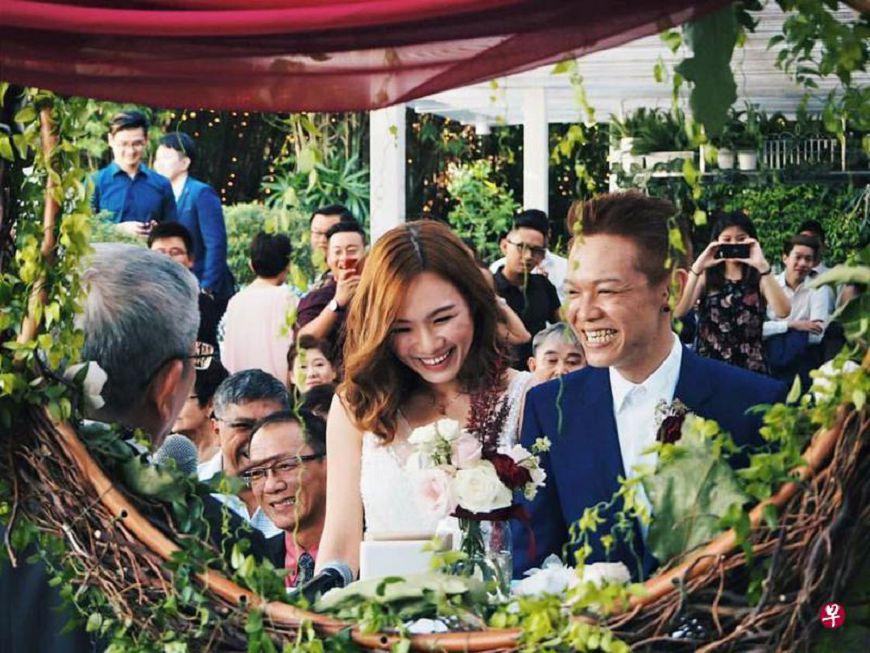 圖/擷取自《聯合早報》 「我們來生再見」19年男友癌末…真愛女友堅持出嫁