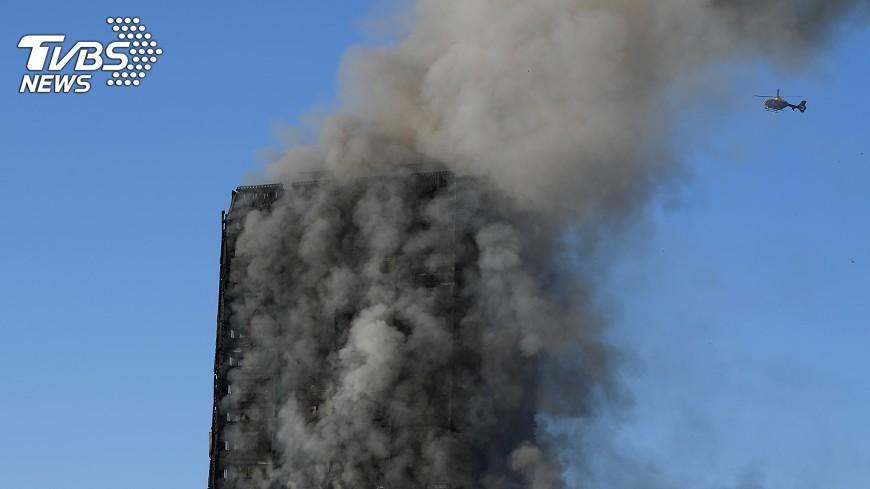 圖/達志影像路透社 倫敦惡火已知30傷  2009年以來最慘