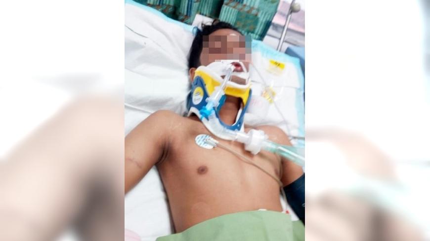 圖/翻攝自《星洲網》 畢業避不了霸凌 18歲青年下體遭折磨傷重腦死