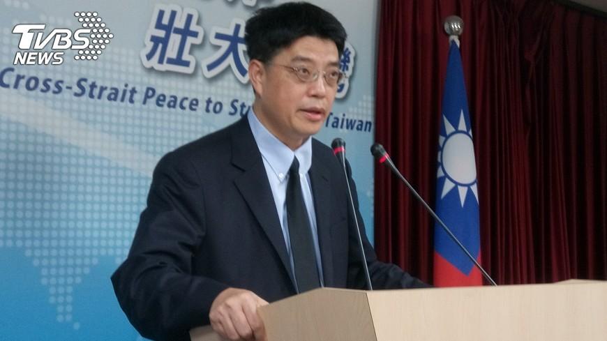 圖/中央社 陸委會:不排除調整兩岸人員往來措施