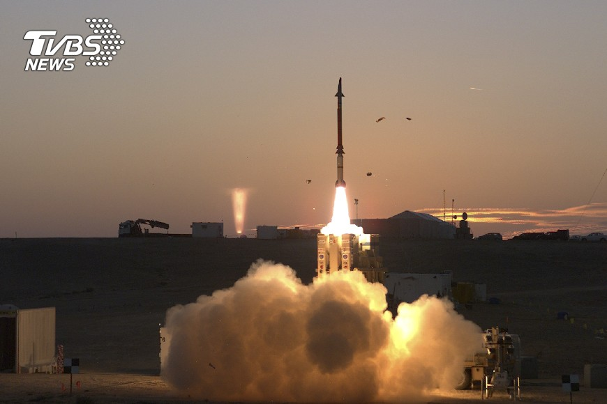 圖/達志影像美聯社 伊朗向敘利亞發射導彈 誓言打擊恐攻
