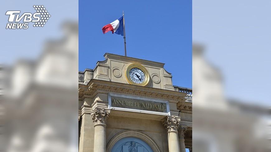 圖/中央社 法國會選舉 馬克洪派大勝不如預期