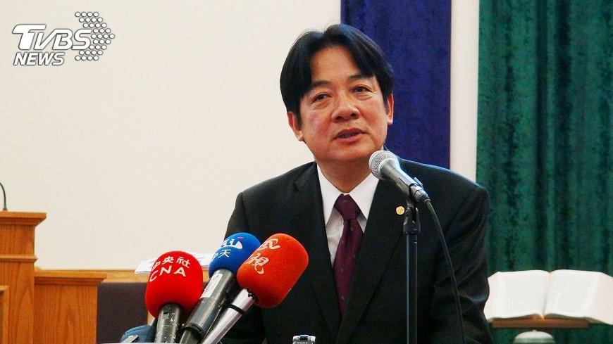 圖/中央社 賴清德:希望美國僑界支持台灣改革