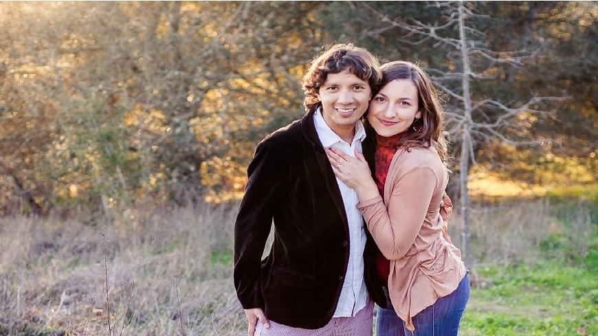 美國一對夫妻奉行「食氣法」9年,自稱身體十分健康。(圖/翻攝自Akahi Ricardo臉書)