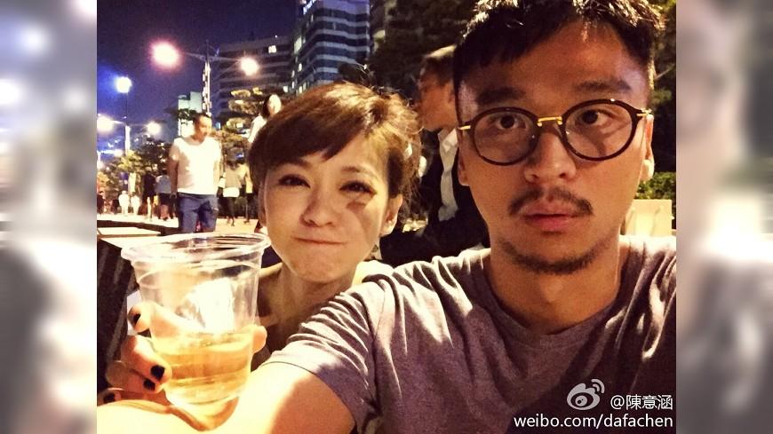 圖/陳意涵微博 陳意涵掰了髮型師男友 三年戀情告吹
