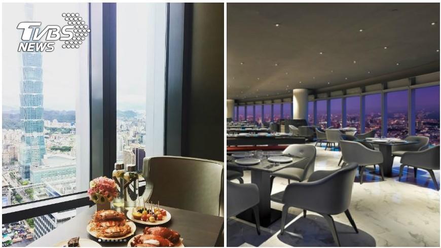 圖/50樓Café提供(右) 呷好料+無敵景觀 這些吃到飽餐廳都愛「登高」