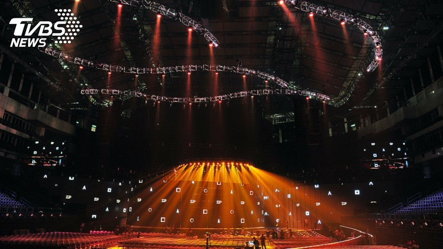 圖/中央社 金曲舞台視覺超過百米 耗資AR擴增實境