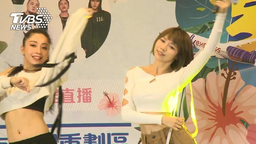 圖/TVBS 花蓮夏季嘉年華 林明禎代言促銷觀光、美食