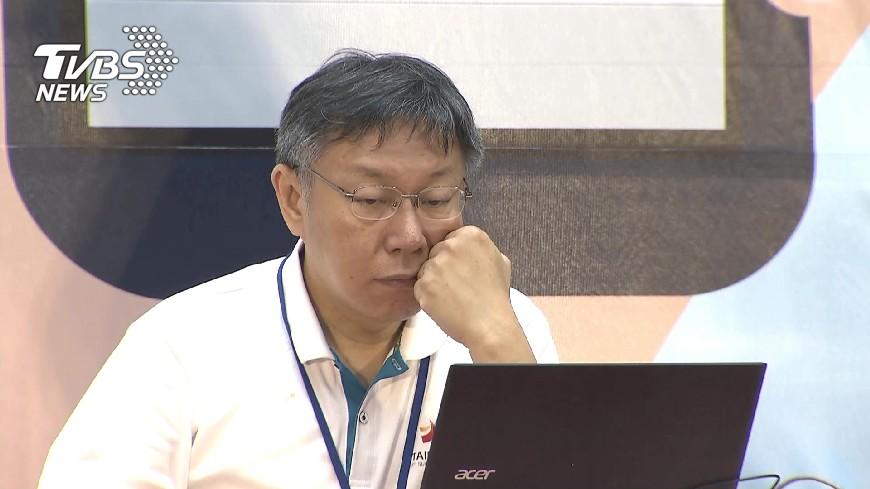 圖/TVBS 談警政人事案 柯文哲:手段很粗暴