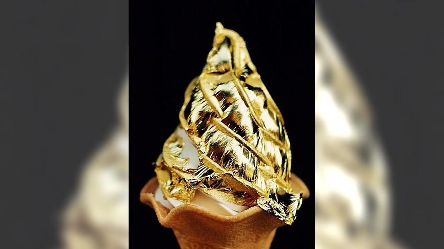 皇后淇淋 Queen Cream提供 免飛日本!超奢華金箔冰淇淋 信義區就吃得到