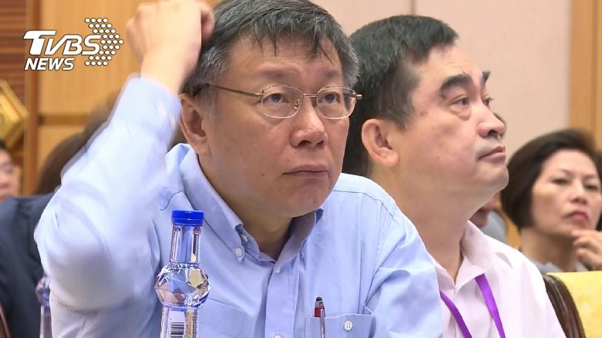 圖/TVBS 指兩岸關係如夫妻 柯文哲:脫稿演出