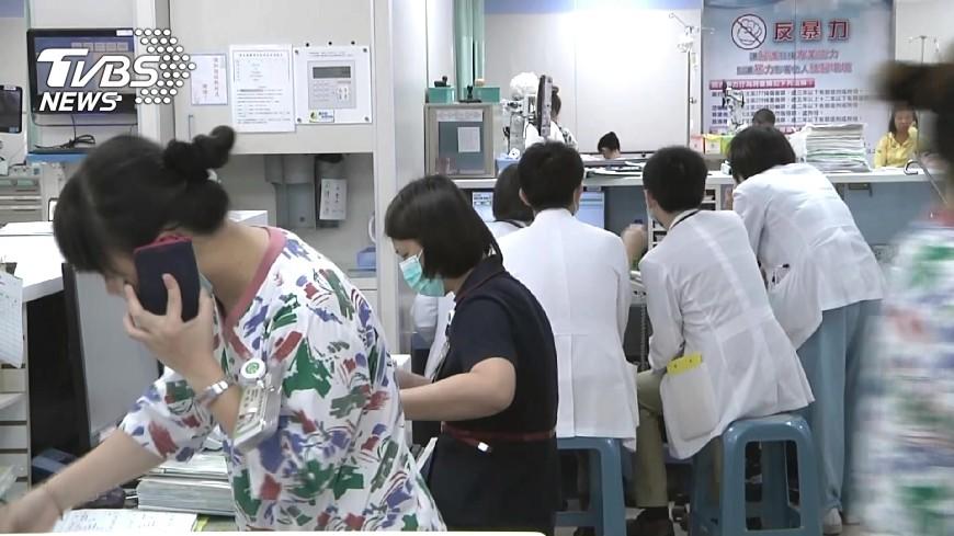 非新聞當事人。示意圖/TVBS資料畫面 說護理師沒資格講病情 男子出言恐嚇判刑3月