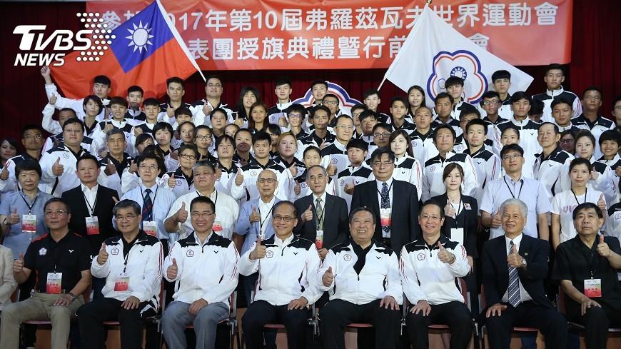 圖/中央社 國手坐商務艙 世運代表團出征波蘭