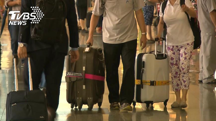 圖/TVBS 買票搭機出國 機場劃位才知「有無座位」