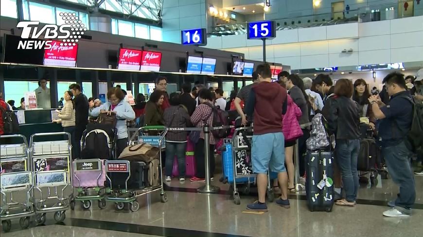 圖/TVBS 颱風蘭恩21日到琉球海域 赴日注意航班