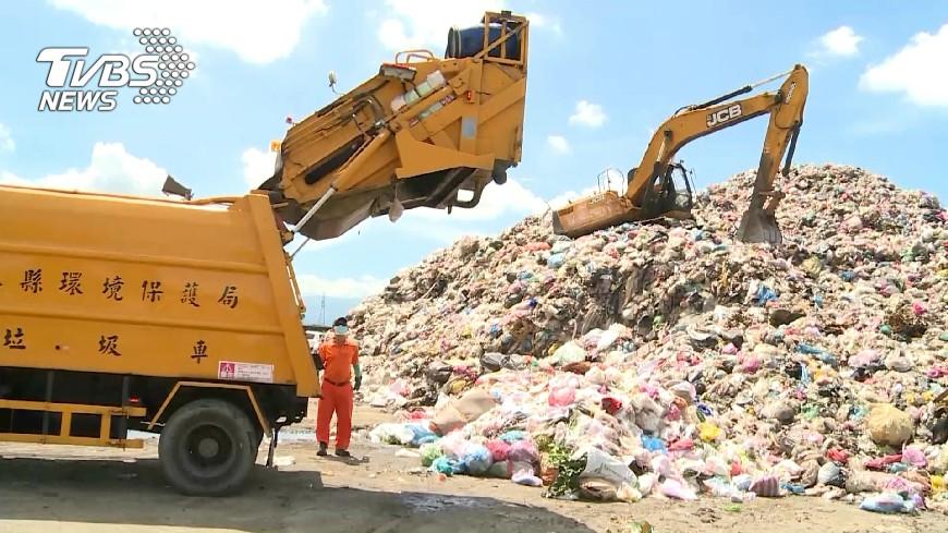 圖/TVBS 廢棄物清理修法 焚化爐環署統一調度