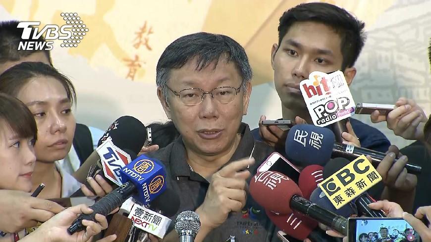 圖/TVBS 柯文哲:我若是總統 向對岸發揮軟實力