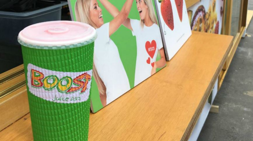 Boost Juice Bars提供