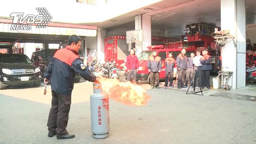 圖/TVBS 鋼瓶爆炸威力 如200公斤炸藥毀9店面