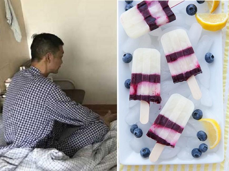 合成圖。圖/翻攝自《錢江晚報》、visualhunt網站 一口氣吃54支冰棒還配冰水 他急性腎衰竭休克險送命