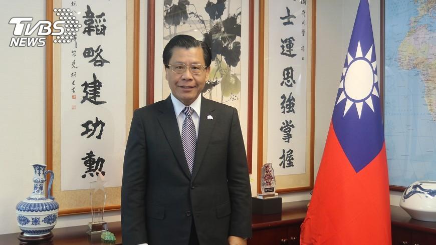 圖/中央社 梁國新:台出口新南向國家 新加坡居冠