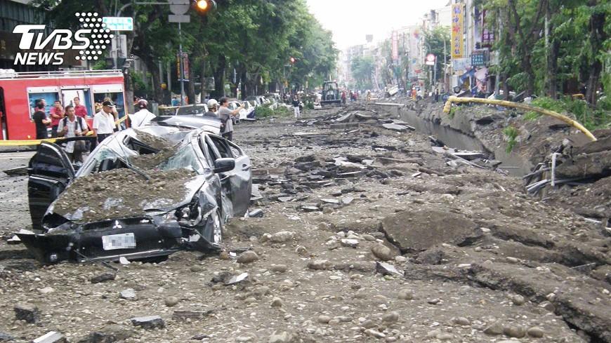 圖/中央社 氣爆傷者和解 高市府協助促成