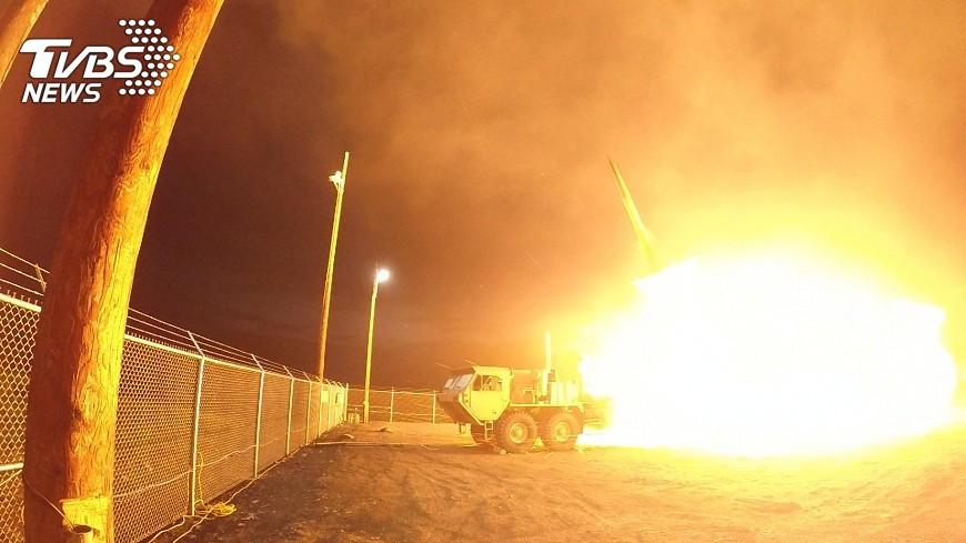 圖/達志影像路透社 傳大陸進行飛彈試射 模擬攻擊薩德