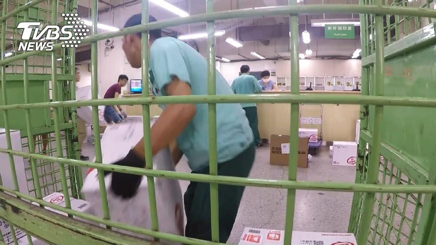 圖/TVBS 貨運紛紛停週日配送 配送需求大考驗