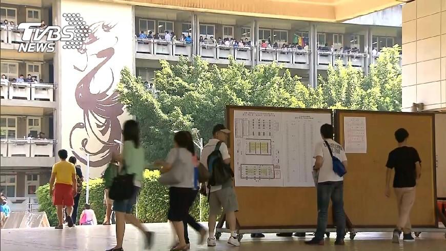 圖/TVBS 蛋黃效應!台大錄取新生 雙北高中破5成