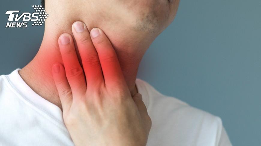 示意圖/TVBS 男頸部鼠蹊部腫塊腫大 淋巴癌上身