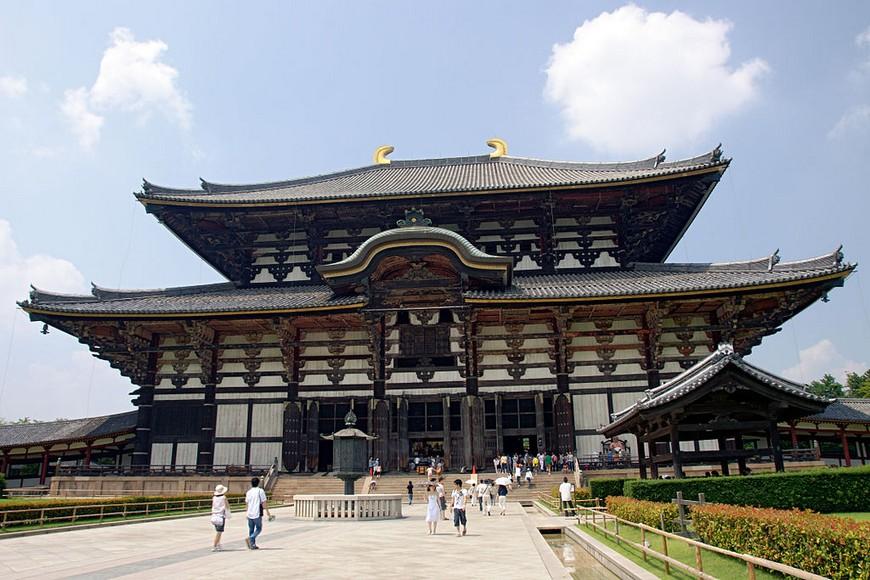 圖/翻攝自wikipedia網站 奈良國寶東大寺又遭破壞 發現韓文塗鴉刻字