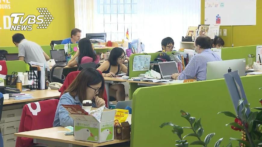 圖/TVBS 一例一休再修法 企業給60.2分及格